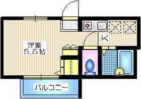フォーリーヴズ2階Fの間取り画像