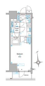 ルフォンプログレ東上野4階Fの間取り画像