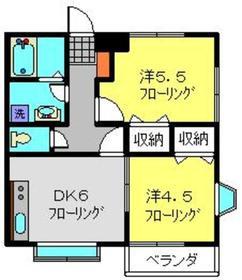 エムティヒルズ2階Fの間取り画像
