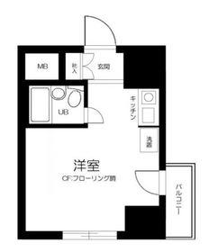 西横浜駅 徒歩8分9階Fの間取り画像