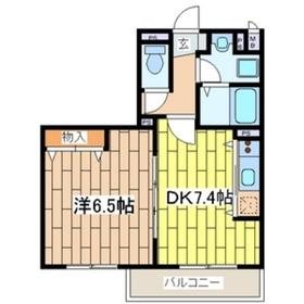 星川駅 徒歩8分3階Fの間取り画像