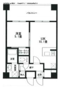 COMODO川崎9階Fの間取り画像