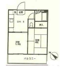藤巻ビル3階Fの間取り画像