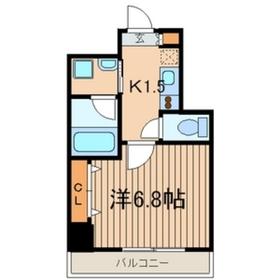 パティーナ川崎7階Fの間取り画像