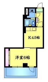 HJフレール8階Fの間取り画像