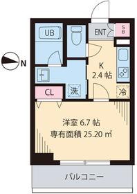 セレリーオ・ニッコー2階Fの間取り画像