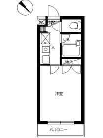 スカイコートよみうりランド第24階Fの間取り画像