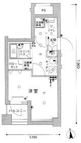スカイコート大島4階Fの間取り画像