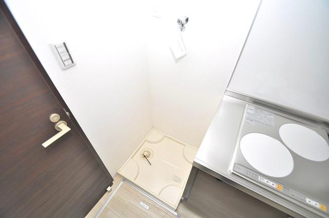 Realize長瀬 室内に洗濯機置き場があれば雨の日でも安心ですね。