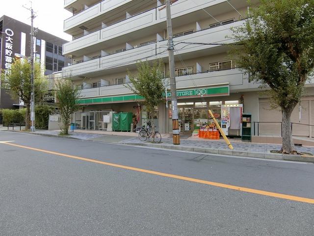 ローソンストア100淀川西三国店