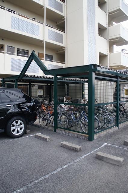 自転車置き場♪