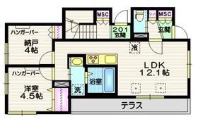 大崎駅 徒歩21分1階Fの間取り画像