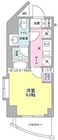 プラース千代田富士見8階Fの間取り画像