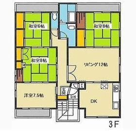 希望ヶ丘駅 徒歩22分3階Fの間取り画像