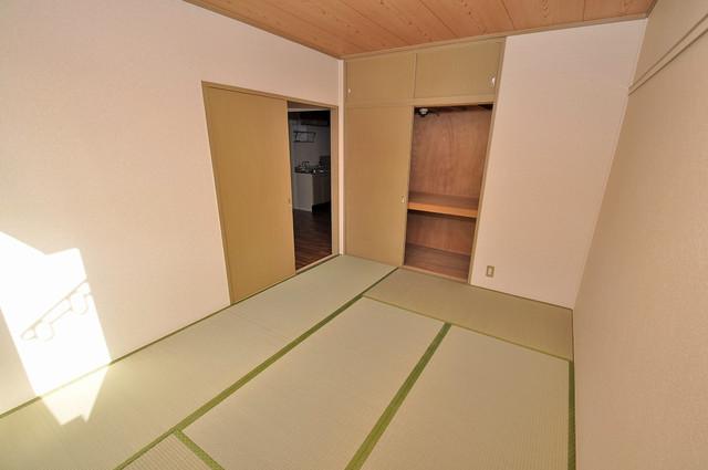 サンビレッジ・ラポール 畳の心地よい香りがする、この空間で癒されてください。