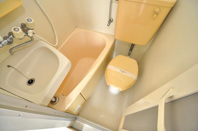 コシベ八戸ノ里 シャワー一つで水回りが掃除できて楽チンです