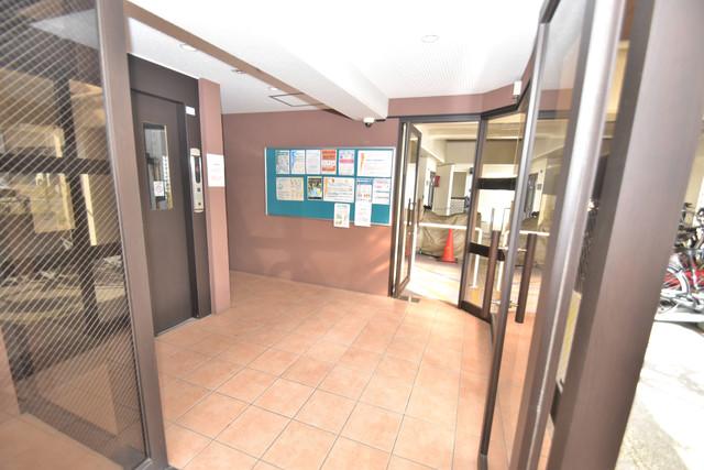 星和ビル エレベーターホールもオシャレで、綺麗に片づけられています。