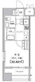 ライジングプレイス川崎12階Fの間取り画像