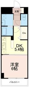 ファーストヒル4階Fの間取り画像