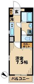ソフィア永山1階Fの間取り画像