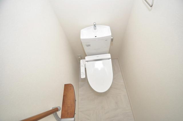 シャーメゾンプランタン 清潔感のある爽やかなトイレ。誰もがリラックスできる空間です。