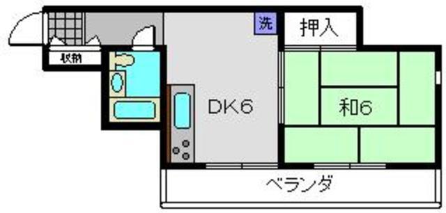 ホーユウパレス和田町間取図