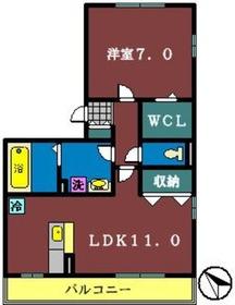 Esperanza3階Fの間取り画像