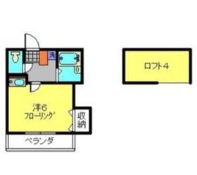 エミューズコート1階Fの間取り画像