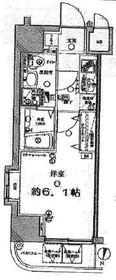 ディアレイシャス武蔵中原3階Fの間取り画像