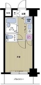 フェニックス笹塚壱番館4階Fの間取り画像