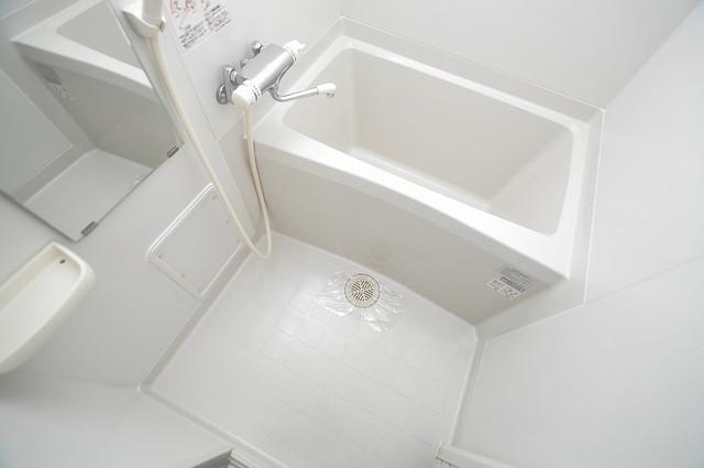 CASSIA高井田NorthCourt 足を伸ばして、ゆっくりできる大きなバスルームですよ。