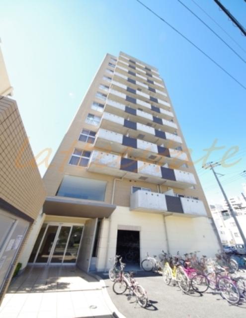 大阪市都島区中野町4丁目の賃貸マンションの外観