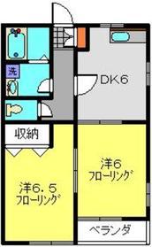 綱島駅 徒歩13分1階Fの間取り画像