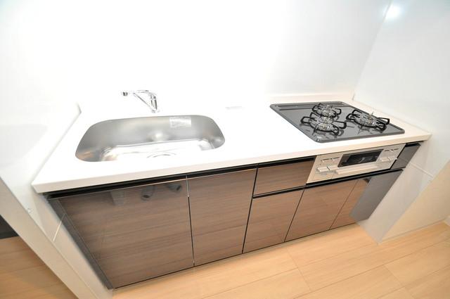InfieldⅢ(インフィルドⅢ) システムキッチンは広々と使えて、お料理が楽しくなります。