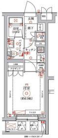 セジョリ横浜鶴見3階Fの間取り画像