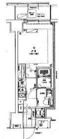 グランリーヴェル横濱Premier4階Fの間取り画像