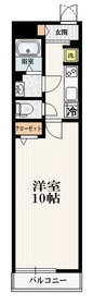 リブリ・レオサード21階Fの間取り画像