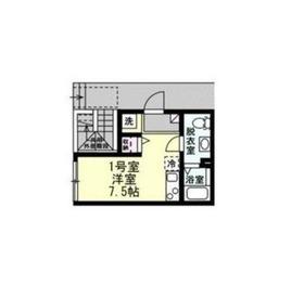 MOMO1階Fの間取り画像