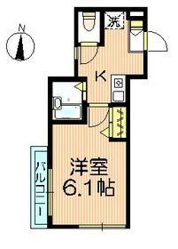 ドリームハイム3階Fの間取り画像