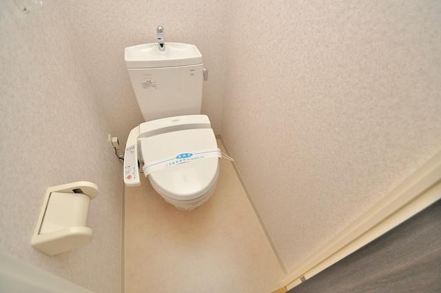 CASSIA高井田SouthCourt うれしいウォシュレット完備。心地よい空間です。