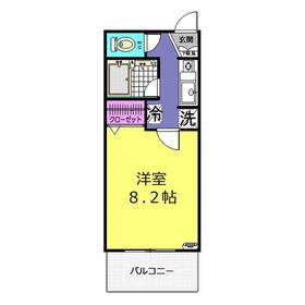 ラフィーネ4階Fの間取り画像