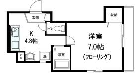 ヴィルクレールⅡ3階Fの間取り画像
