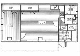 鈴木商事第7ビル1階Fの間取り画像
