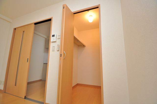 アンプルールフェールU-HA 人気のWICです。広々とお部屋が使えますね。