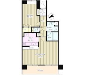 Casa-Aile2階Fの間取り画像