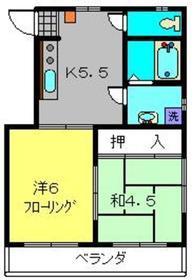R・STREAM1階Fの間取り画像