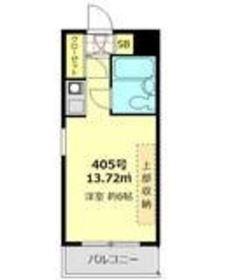 メゾン・ド・ノブレッス4階Fの間取り画像