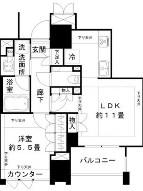ジオ千代田大手町間取図