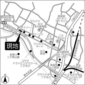 ウィステリア二子玉川案内図