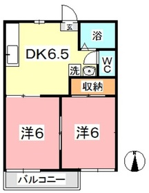 フレグランス神田2階Fの間取り画像